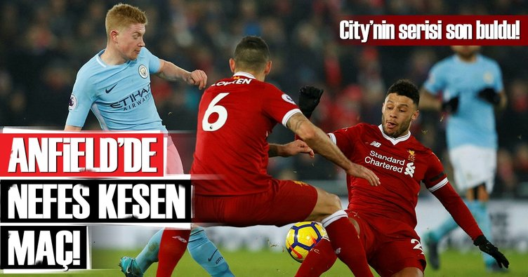 Anfield'de nefesleri kesen maç!
