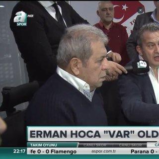 Erman Toro�lu, VAR� yerinde inceledi