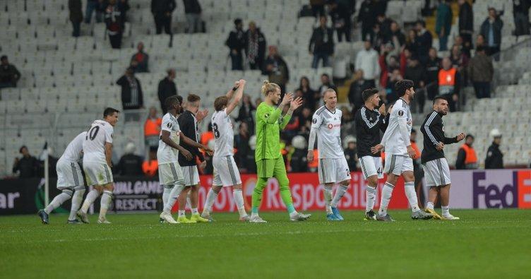 UEFA Avrupa Ligi: Beşiktaş 3 puanı 90+2'de Adem Ljajic ile kaptı