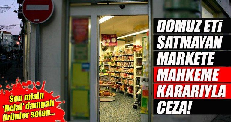 Alkol satmayan markete kapatma cezası