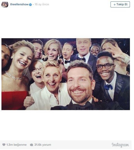 Instagram'ın en beğenilen fotoğrafı