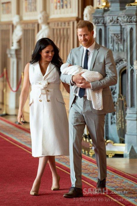 Kraliyet gelini Meghan Markle bebeğine kedisinin adını koymuş!