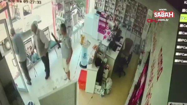 Eczaneye pompalı tüfekle saldırdı| Video