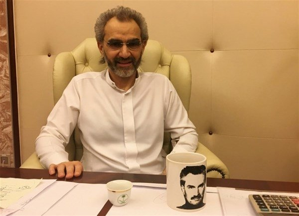 Suudi Prens Talal'ın eski halinden eser yok