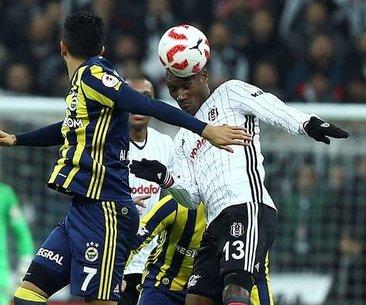 Beşiktaş-Fenerbahçe derbisinden önce takımların...