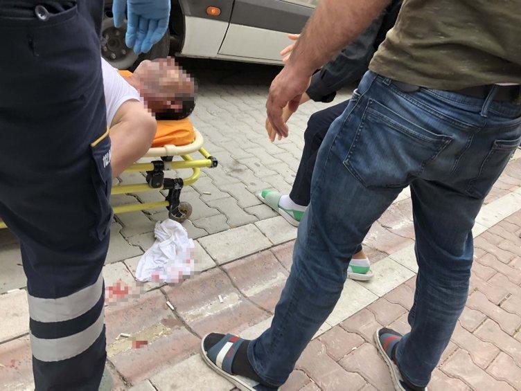 Oğlunun yediği cezayı duyan baba sinir krizi geçirdi!