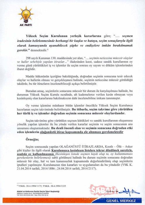 İl Seçim Kurulu 43 sayfalık itiraz dilekçesi ve 3 bavul dolusu belgenin incelenmesini beklemeden tartışmalı karar verdi