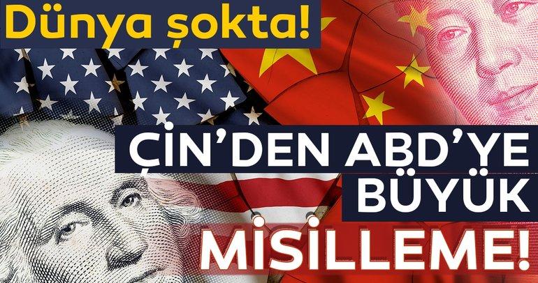 Son dakika: Çin'den ABD'ye jet yanıt! ABD'ye 60 milyar dolarlık vergi misillemesi