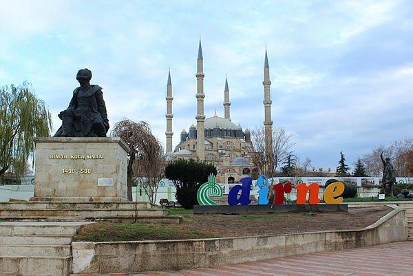 Selimiye'yi ziyaret edenlerin sayısı 2 milyonu geçti