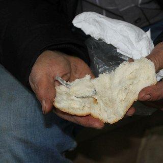 Ekmeğin içinden çıkan şok etti