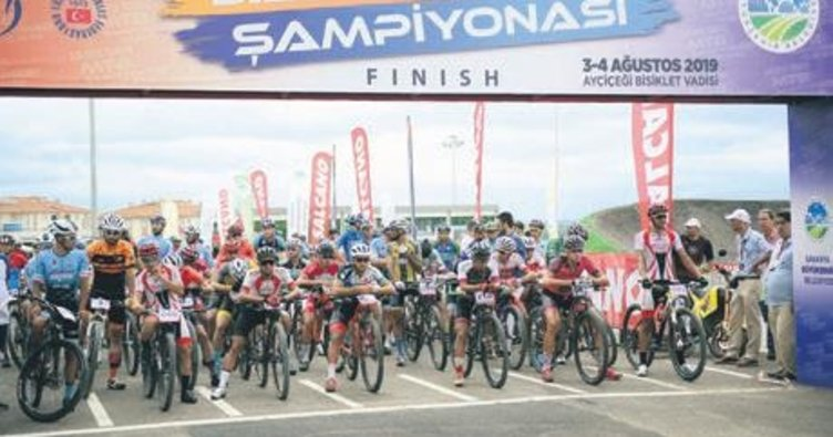 Türkiye Dağ Bisikleti Şampiyonası tamamlandı