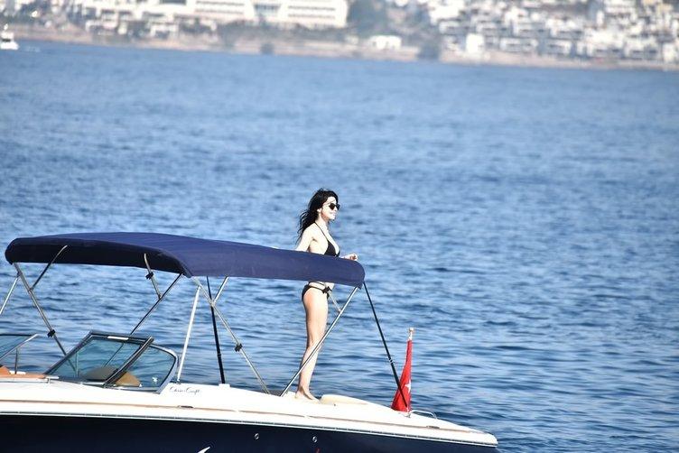 Merve Boluğur ve Murat Dalkılıç'ın aşk tatili