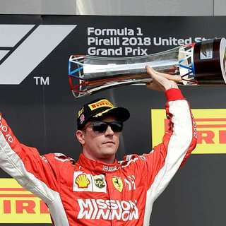Formula 1 ABD Grand Prix'sinde zafer Raikkonen'in