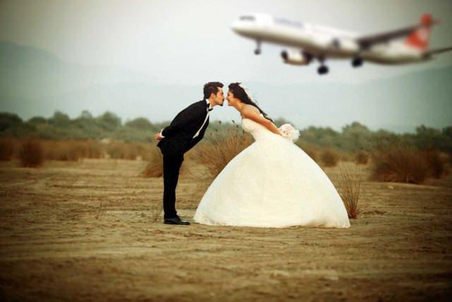 Düğün fotoğraflarında son nokta