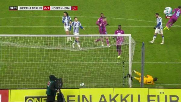 GOL   Hertha Berlin 0-3 Hoffenheim