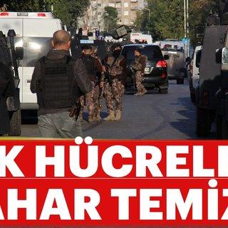 Ankara'da PKK hücrelerine bahar temizliği