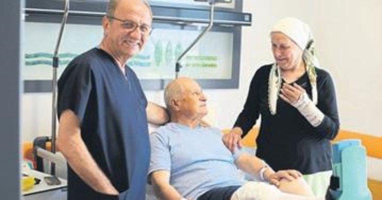 Hastalıkta sağlıkta 50 yıllık can yoldaşı