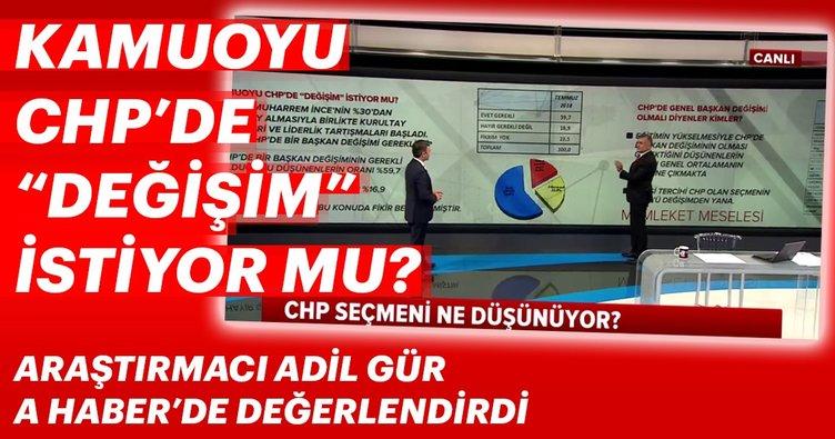 Kamuoyu CHP'de değişim istiyor mu?