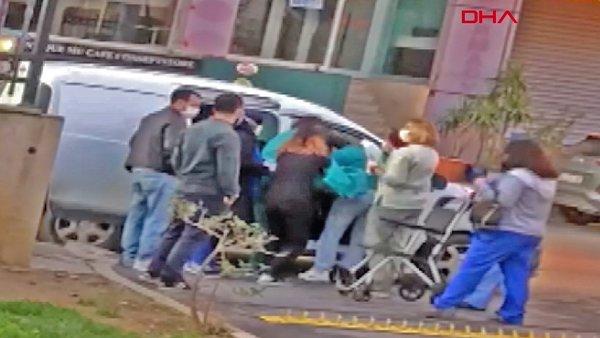 Son dakika! İstanbul Sancaktepe'de hamile kadın hastane kapısında araçta doğum yaptı | Video