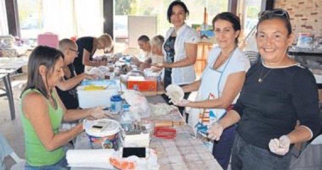 Adrasan'da halk eğitim kursu açıldı