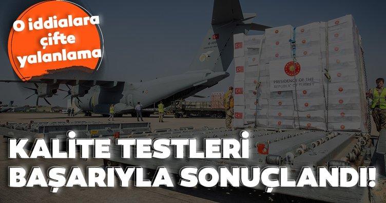 Son dakika: İngiliz medyasının o iddialarına Türkiye ve İngiltere'den yalanlama! Kalite testleri başarıyla sonuçlandı!