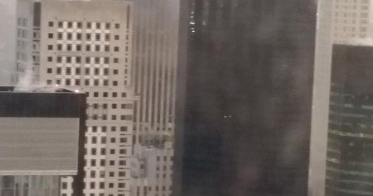 Son dakika! New York'taki Trump Towers'da yangın