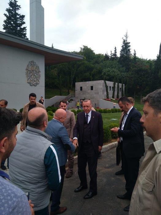 Başkan Erdoğan 15 Temmuz Hafıza Müzesini gezdi
