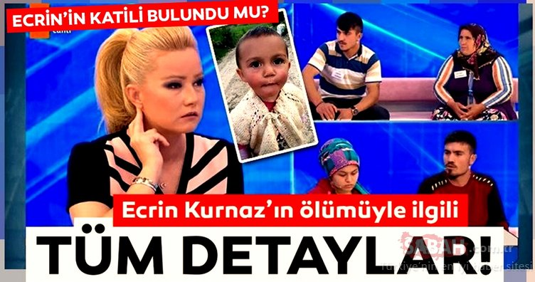 Ecrin Kurnaz'ın katili bulundu mu? Samsun'da kaybolan 1.5 yaşındaki Ecrin Bebek'in ölümüyle ilgili son dakika haberi!