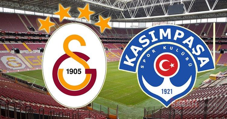 Galatasaray Kasımpaşa maçı ne zaman, saat kaçta ve hangi kanalda? Falcao oynayacak mı?