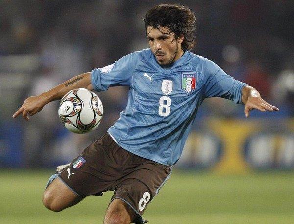 Gattuso'nun şortu düştü