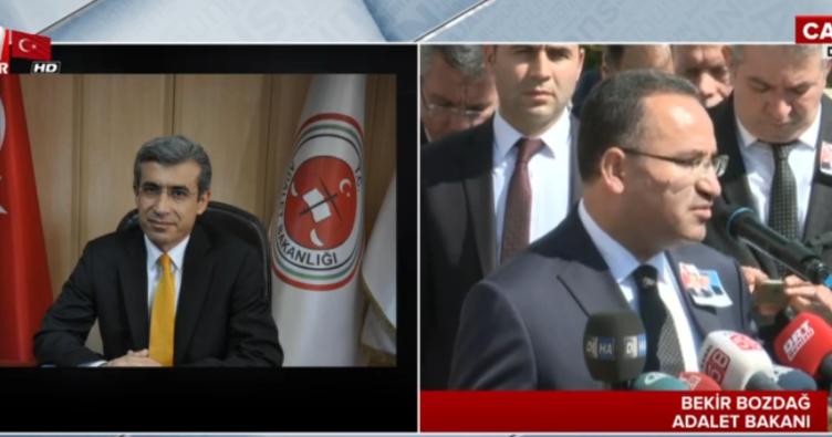Başsavcı Mustafa Alper'e veda