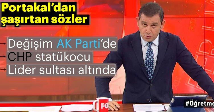 Fatih Portakal ezber bozdu! Kılıçdaroğlu'na sert sözler