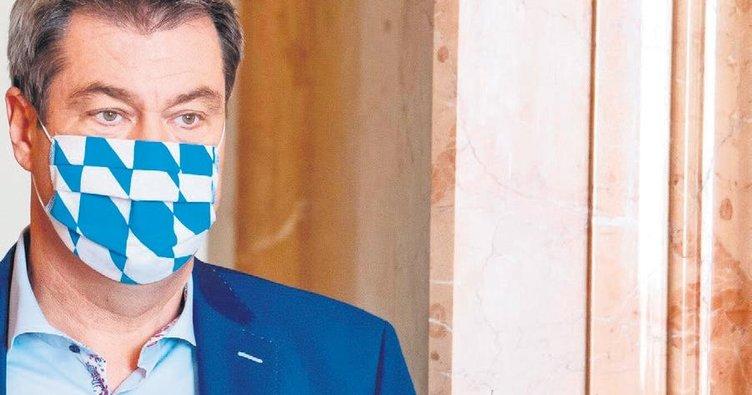 Münih'te maske mecburiyeti