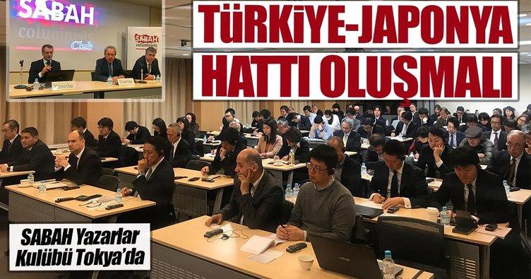 Türkiye-Japonya hattı oluşmalı