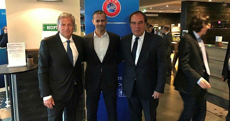 TFF'den UEFA'ya rekor katılım