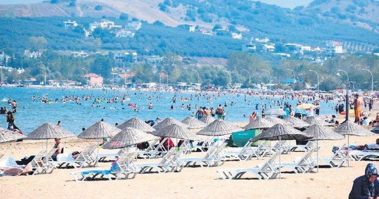 Yenilenen sahillere yoğun ilgi