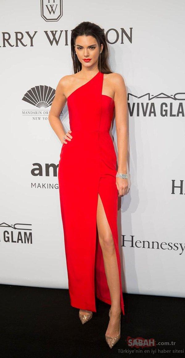 Dünyaca ünlü manken Kendall Jenner'ın Brad Pitt itirafı hayrete düşürdü
