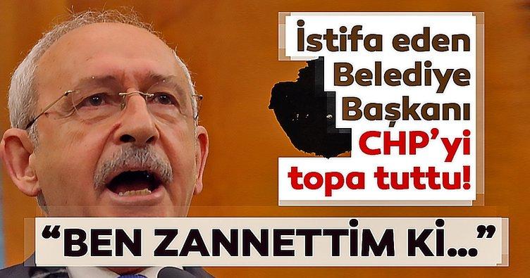 Ben CHP'nin yönetimine isyan ediyorum