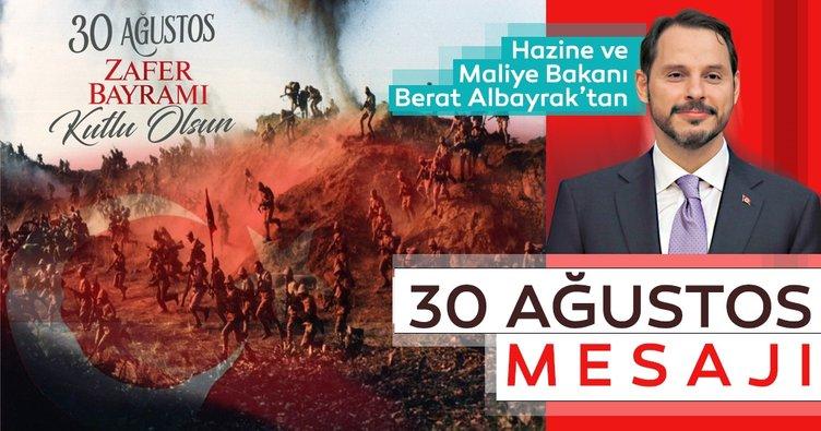 Bakan Berat Albayrak'tan 30 Ağustos Zafer Bayramı mesajı