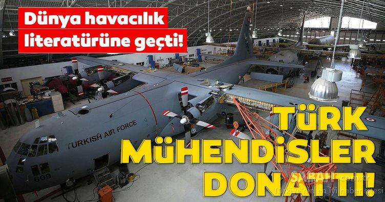 Dünya havacılık literatürüne geçti! Türk mühendisler donatıyor...