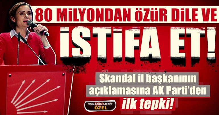 Skandal il başkanının özür açıklamasına AK Parti'den ilk tepki!