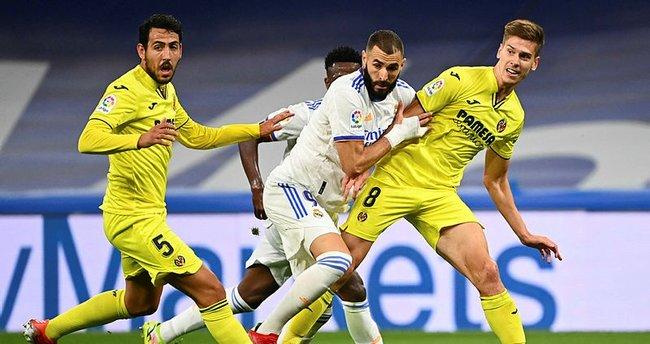 Real Madrid evinde Villarreal'i geçemedi!