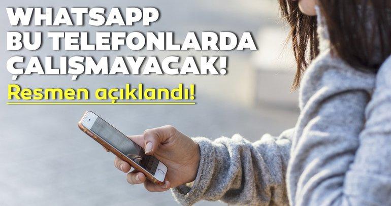 WhatsApp kullanıcıları dikkat! WhatsApp'ın çalışmayacağı telefon modelleri açıklandı