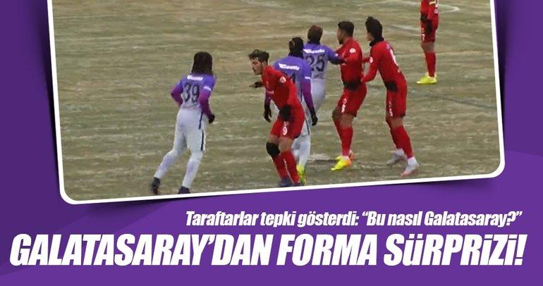 Galatasaray ilk defa mor forma ile sahaya çıktı