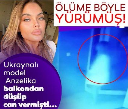 Son dakika: Ukraynalı model Anzelika ölüme böyle yürümüş! Görüntüler ortaya çıktı