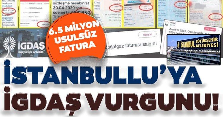 İstanbullu'ya İGDAŞ vurgunu