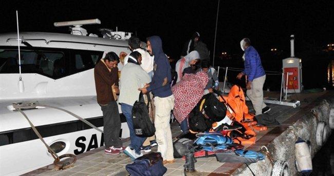 Çanakkale'de 27 yabancı uyruklu yakalandı!