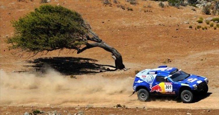 Dakar Rallisi'nde heyecan sürüyor