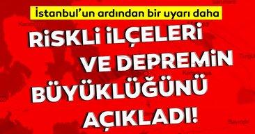 Son dakika haberi: İstanbul'un ardından kritik bir deprem uyarısı da İzmir için! Korkutan deprem senaryosu...