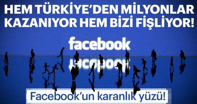 Türkiye'de kullanıcı başı 3.5 dolar kazanan Facebook sizi arşivliyor